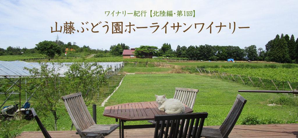 【北陸編・第1回】山藤ぶどう園ホーライサンワイナリー