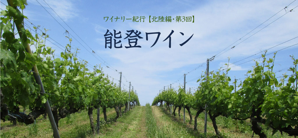 【北陸編・第3回】能登ワイン